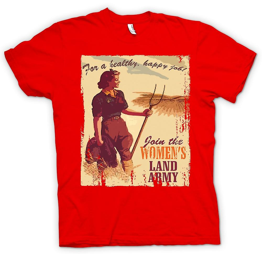 Mens T-shirt - Join der Womens Land-Armee