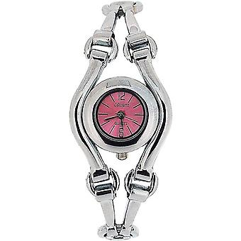 The Olivia Collection Ladies Pink Dial Bracelet Strap Dress Watch COS35