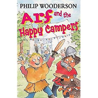 Arf and the Happy Campers (Black Cats) [Illustrated]