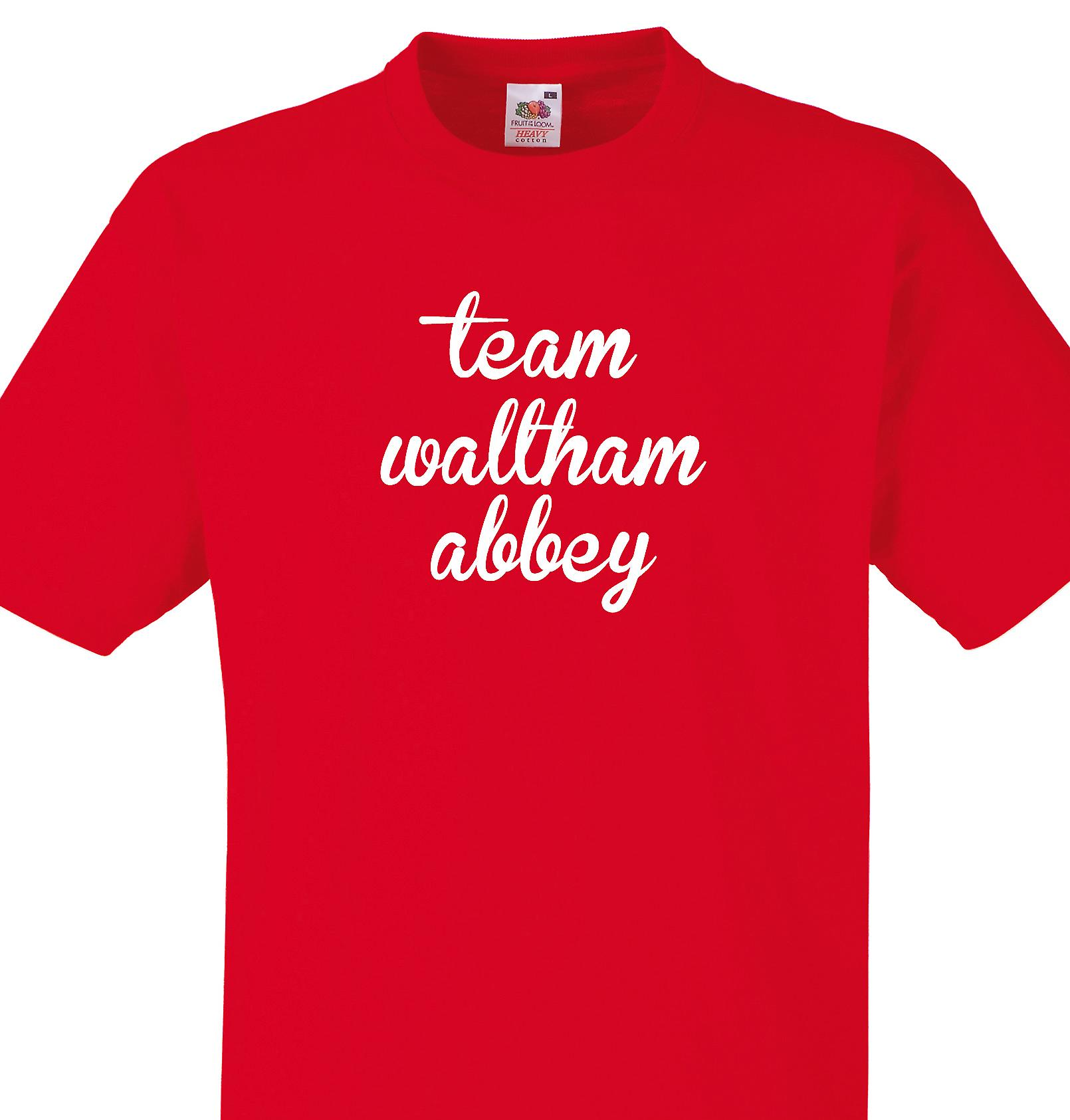 Team Waltham abbey Red T shirt
