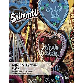 Stimmt! AQA GCSE German Higher Student Book: Higher