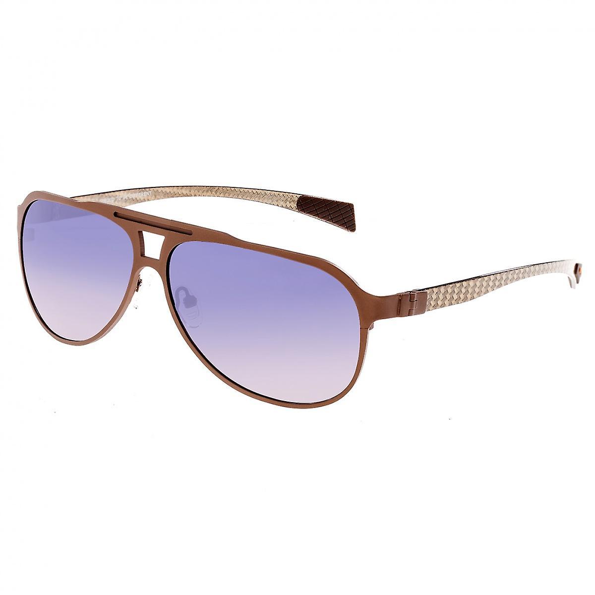 Race Apollo titane et fibre de voiturebone Polarized lunettes de soleil - bleue violette