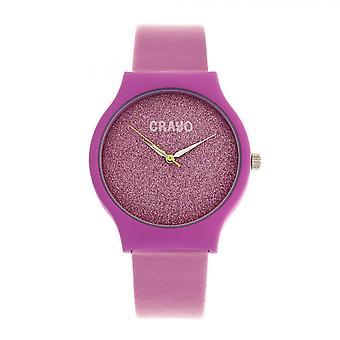 Crayo Glitter Unisex Watch - Hot Pink