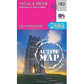 Yeovil & Frome (OS Landranger Map)