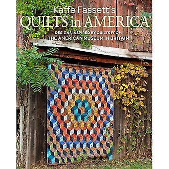 Courtepointes de Kaffe Fassett en Amérique: dessins inspirés par Vintage Quilts de l'American Museum en Grande-Bretagne