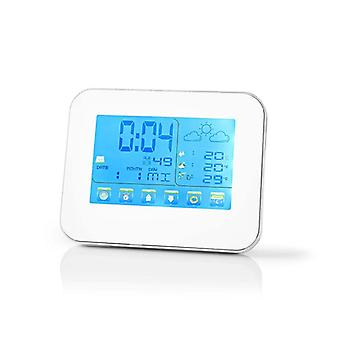 Weather station inside and out with Time, date, Alarm 401WT