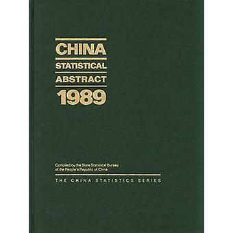 China statistische abstrakte 1989 durch staatliche statistische Bureau Völker Repub