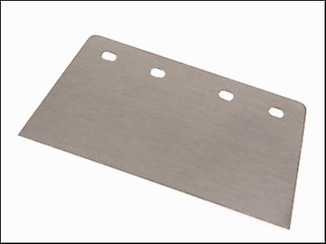 Faithfull Floor Scraper Blade Heavy-Duty 200mm (8in) 4 Hole
