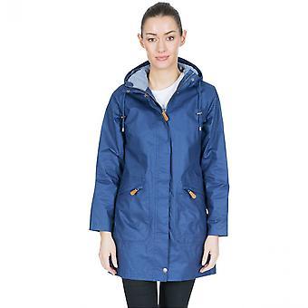 Trespass Womens polvilhado TP75 Parka com capuz impermeável casaco