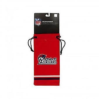 New England Patriots NFL Microfiber Glasses Bag