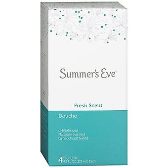 Summer's eve douche, fresh scent, 4 ea