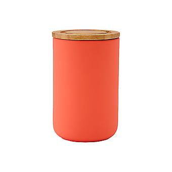 Ladelle Stak Canister Coral, 17cm
