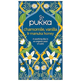 Pukka kamille, vanille & Manuka honing theezakjes 80