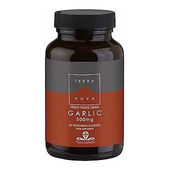 Terranova Garlic 500mg Vegicaps 50 (T3203)