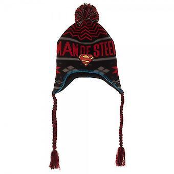 Laplander Beanie Cap - Superman - Man Of Steel New kc3xv0spm