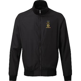Royal Irish Fusliers Veteran - Licensed British Army Embroidered Harrington Jacket