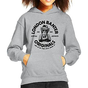 London Banter Originals Daper Ape Kid's Hooded Sweatshirt