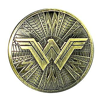 Pin - DC Comics - Wonder Woman Shield Pewter Lapel New Licensed 45749