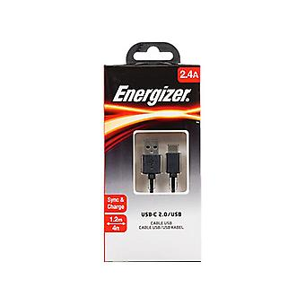 Energizer USB-C to USB-A Cable