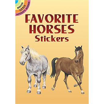 Dover Publications favoriete paarden Stickers Dov 44104