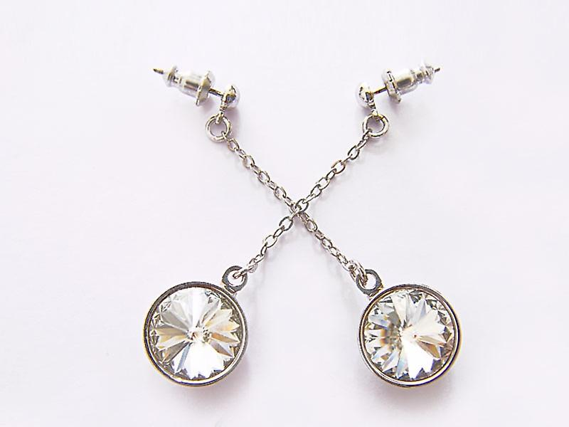 Drop earrings Swarovski EMB 15.4