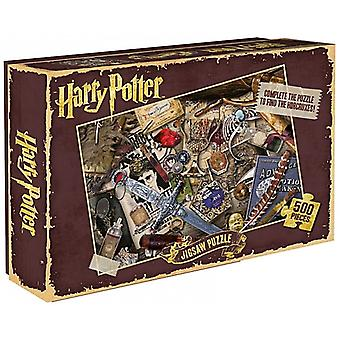 Harry Potter Horcruxes 500 piece jigsaw puzzle  500mm x 350mm (hb)
