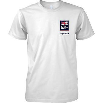 RN-Squash-Logo 2 - Königliche Marine Sport T-Shirt Farbe