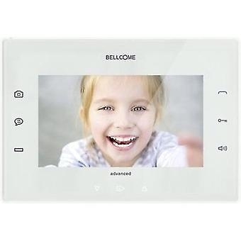 Video door intercom Corded Bellcome VTA.7S902.BLW White