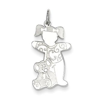 Plata esterlina Warm Fuzzies abrazo encanto -.6 gramos