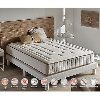Matratze viskoelastische Luxus Komfort Cashmere 26 cm Höhe (+ /-2cm) 180_x_200 cm
