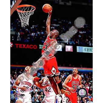 Michael Jordan 1995-96 Action Sports Photo