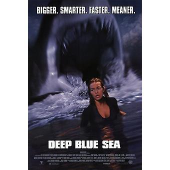 Deep Blue Sea Movie Poster (11 x 17)