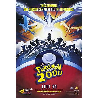 Pokemon the Movie 2000 the Power of One Movie Poster (11 x 17)