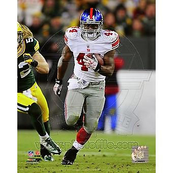 Ahmad Bradshaw NFC Divisional Playoff spel Action Sport foto