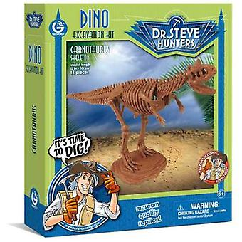 Geoworld Dino Excavation Kit - Carnotaurus Skeleton