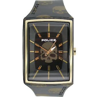 Police montre wrist watch silicone analogiques PL. 13077MPBG/02
