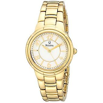 Bulova Women's 97L131 Analog Display Analog Quartz Gold Watch