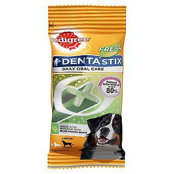 Pedigree C&t Dentastix Fresh Large Dog +25kg 7stk (Pack of 10)