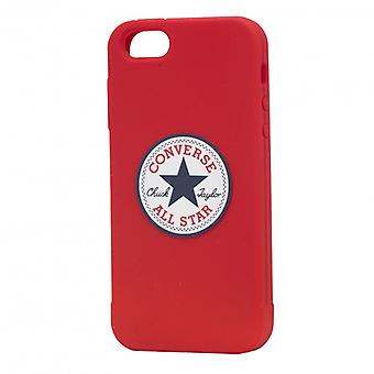 CONVERSE Shell Silicone iPhone 5/5s/SEE Red