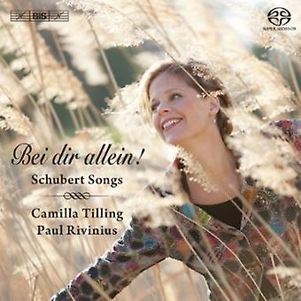 R. Schubert - Bei Dir Allein! Schubert Songs [SACD] USA import