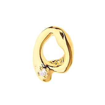 Single tooth 15x10mm Grill - one size fits all top gold