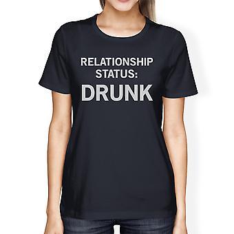 Forholdet Status dame Navy Herre T-shirt humoristisk grafik