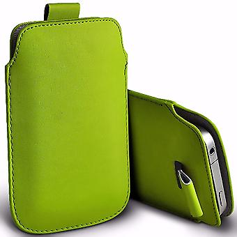 i-Tronixs Premium Stylish Faux Leather Pull Tab Pouch Skin Case Cover For DEXP Ixion ML150 Amper M (5
