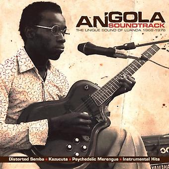 Angola Soundtrack: The Unique Sound Of Luanda 1968-1976 by Various Artists