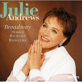 Julie Andrews - Broadway-musica di importazione USA Richard Rodg [CD]