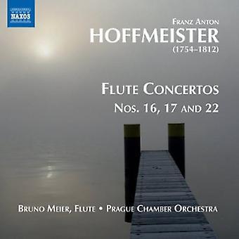 FA Hoffmeister - Franz Anton Hoffmeister: Fløyte konserter, Vol. 2 [DVD] USA import
