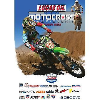 AMA Motocross Anmeldelse 2013 [DVD] USA importerer