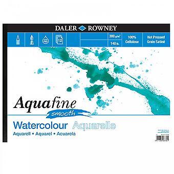Daler Rowney Aquafine glatte Pad 140lb A3