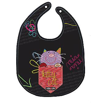 Tris & Ton Bibs Kitty Cat (Home , Babies and Children , Eat , Kitchenware)