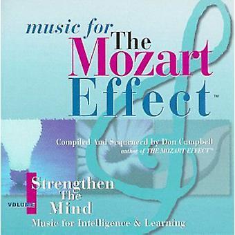 Don Campbell - musik til Mozart-effekten, Vol. 1: styrke sind [CD] USA importen